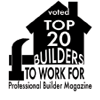 Top 20 Builders to Work For logo