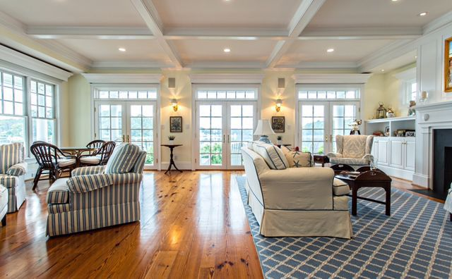 Floored By Flooring Choices Vb Homes, Traditional Living Laminate Flooring Brazilian Cherry